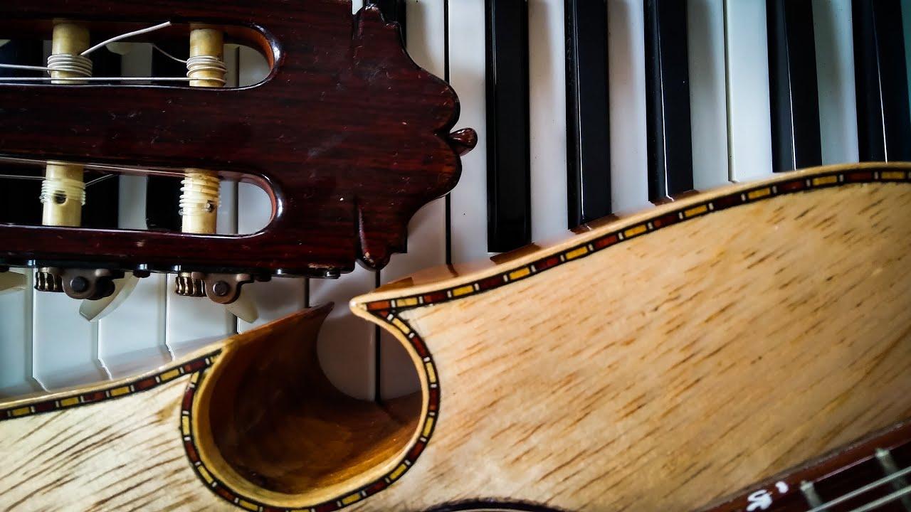 """Clases de Guitarra (Clase #14) – canción """"Querube"""", de Pedro Flores"""